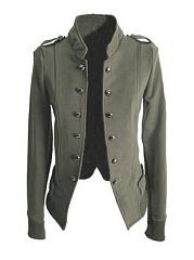 Chic-Plain-Comfortable-Band-Collar-Jacket