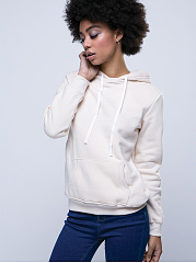 Stylish With Pocket Plain Hoodie