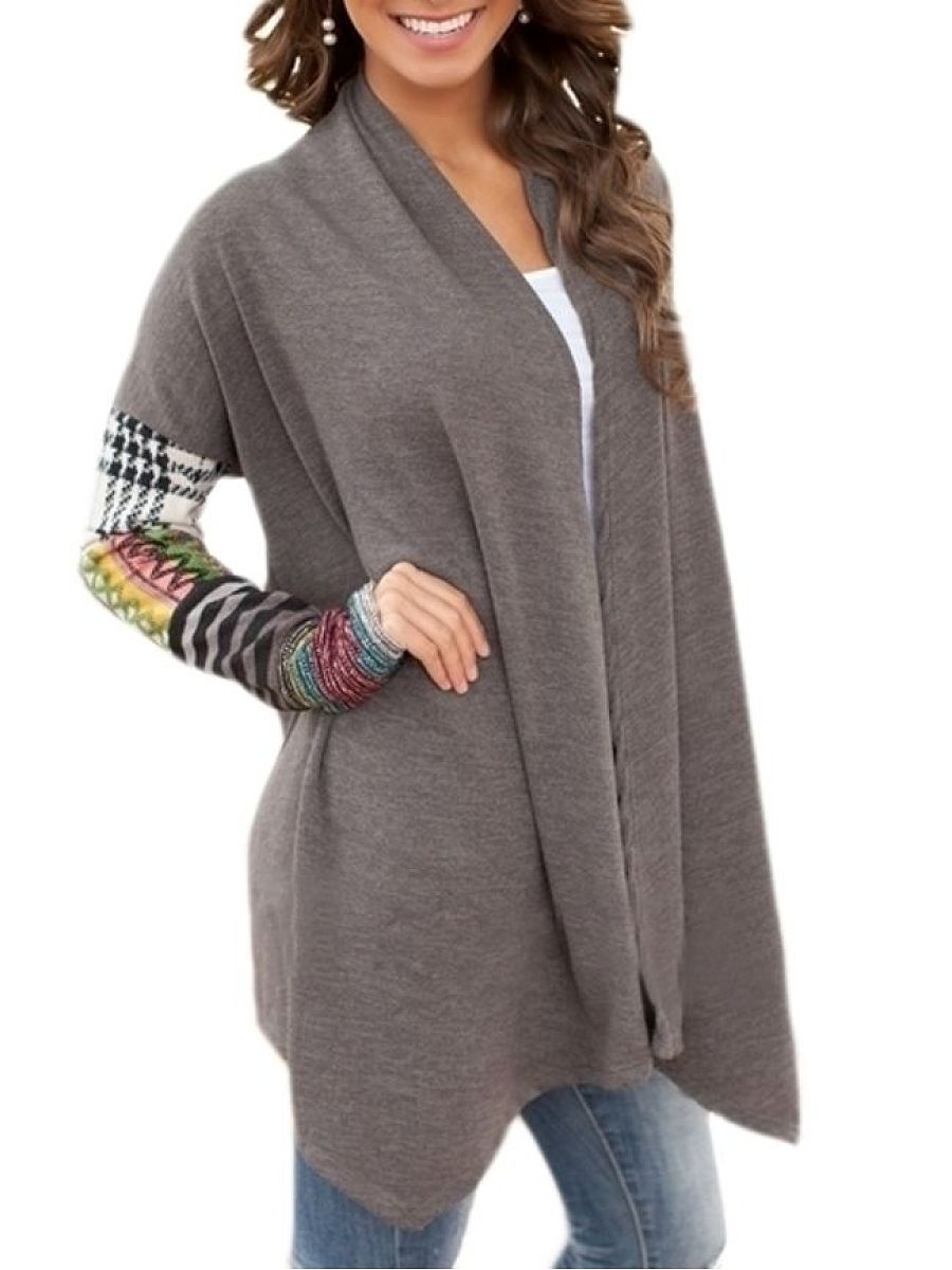 Comfortable Assorted Colors Cardigan