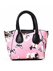 Elegant-Stylish-Floral-Butterflies-Printed-Hand-Bag
