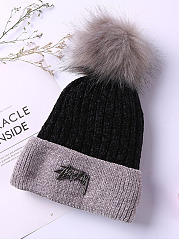Fashion Plain Hats For Winter