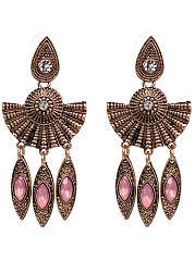 Exotic Statement Drop Earrings