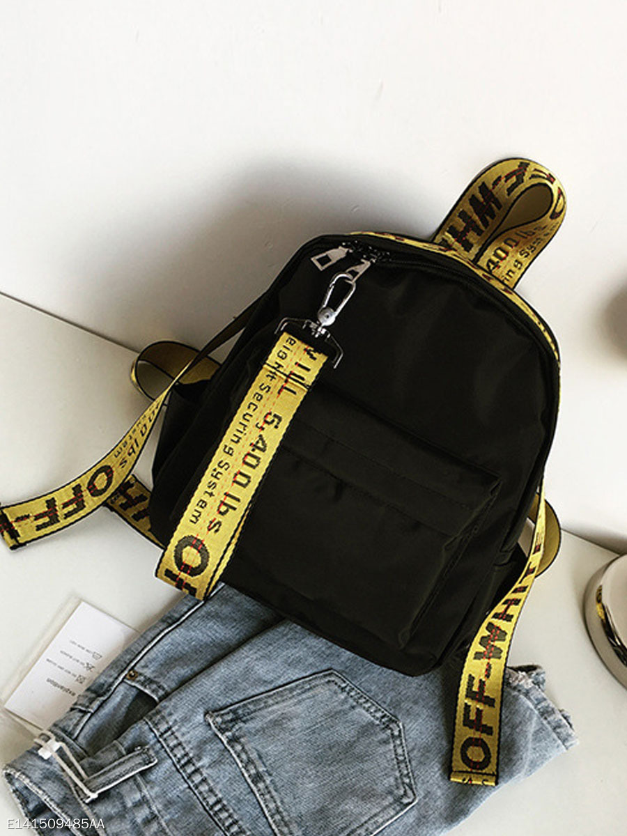 Letters Chic Street Backpack