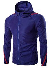 Hooded-Contrast-Piping-Pocket-Men-Jacket