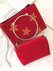 Star Shape Crossbody Bag