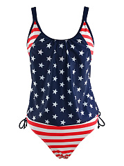 Spaghetti-Strap-US-Flag-Printed-Swimwear