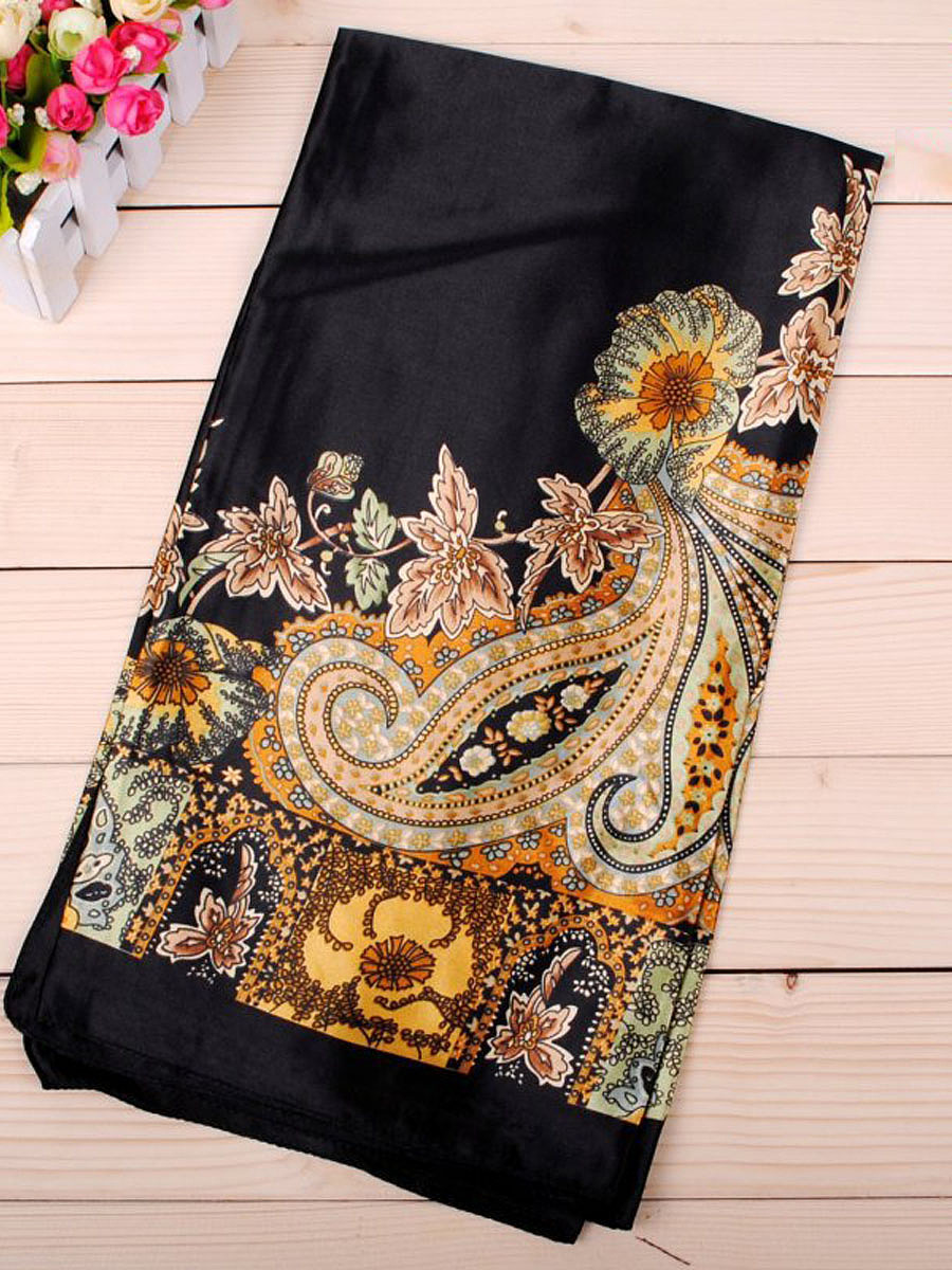 High Quality Printed Satin Scarf
