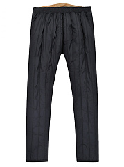 Mens  Plus Cashmere Warm Trousers Pant