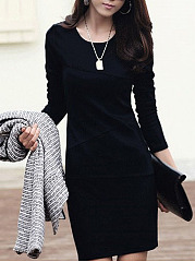 Basic Stylish Bodycon Dress
