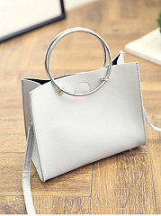 New Style Plain Shoulder Bag