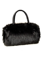 New Fashion Korea Style Faux Fur Crossbody Bag