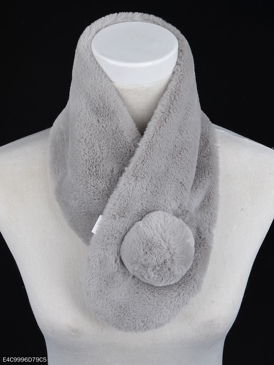 Warm Faux Fur Fashion Scarf