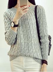 Striped-Pullover