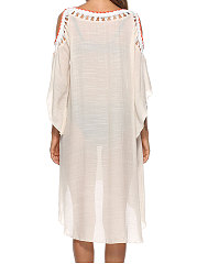 Plain Sexy Off-Shoulder Tunic For Women