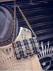 Classic-Plaid-Gold-Chain-Crossbody-Bag
