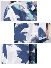 Trench Coton   Lin Printed