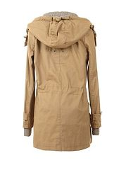 Drawstring Comfortable Hooded Overcoats