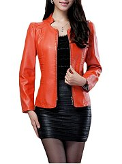 Zips Fabulous Band Collar Jackets