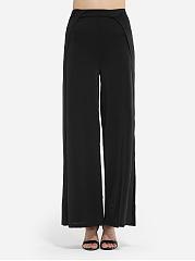 Mens-Loose-Fitting-Plain-Side-Split-Casual-pants