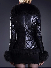 Faux Fur Absorbing Overcoat