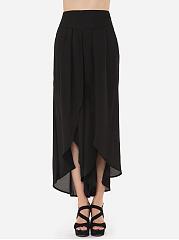 Loose-Fitting-Plain-Trendy-Elegant-Casual-pants