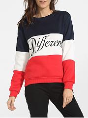 Round-Neck-Cotton-Color-Block-Letter-Printed-Sweatshirt
