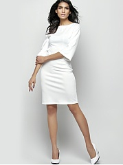 Pinterest Bodycon Crew Dress Plain Neck