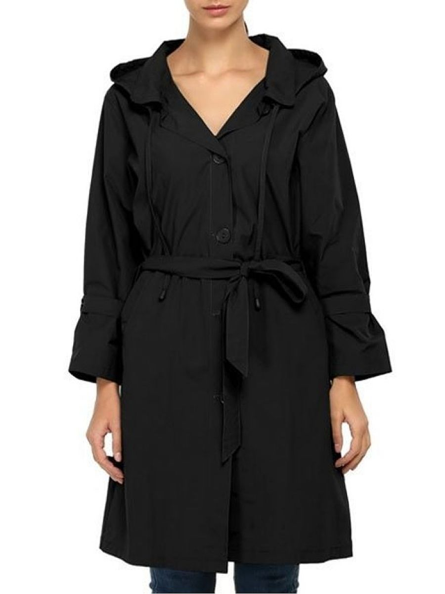 Casual Classical Hooded Trench Coats