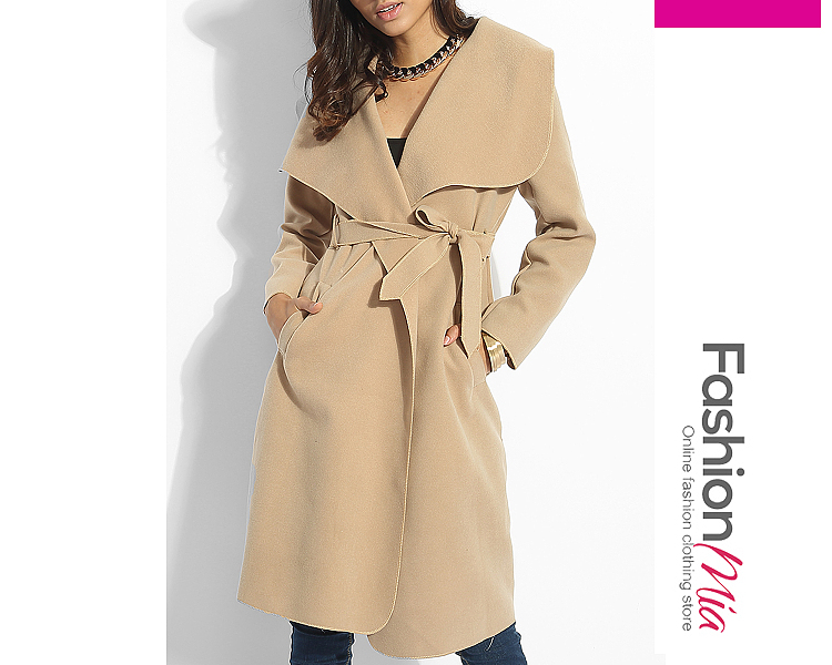 collar:lapel, material:woolen, embellishment:bowknot,pockets, pattern_type:plain, occasion:date,going out,vacation, bustsleeve lengthlength