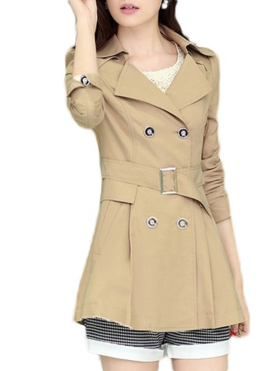 Classical Lapel Trench Coats