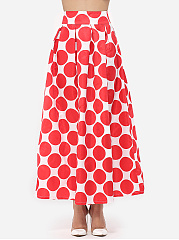 Polka Dot Delightful Maxi-skirt