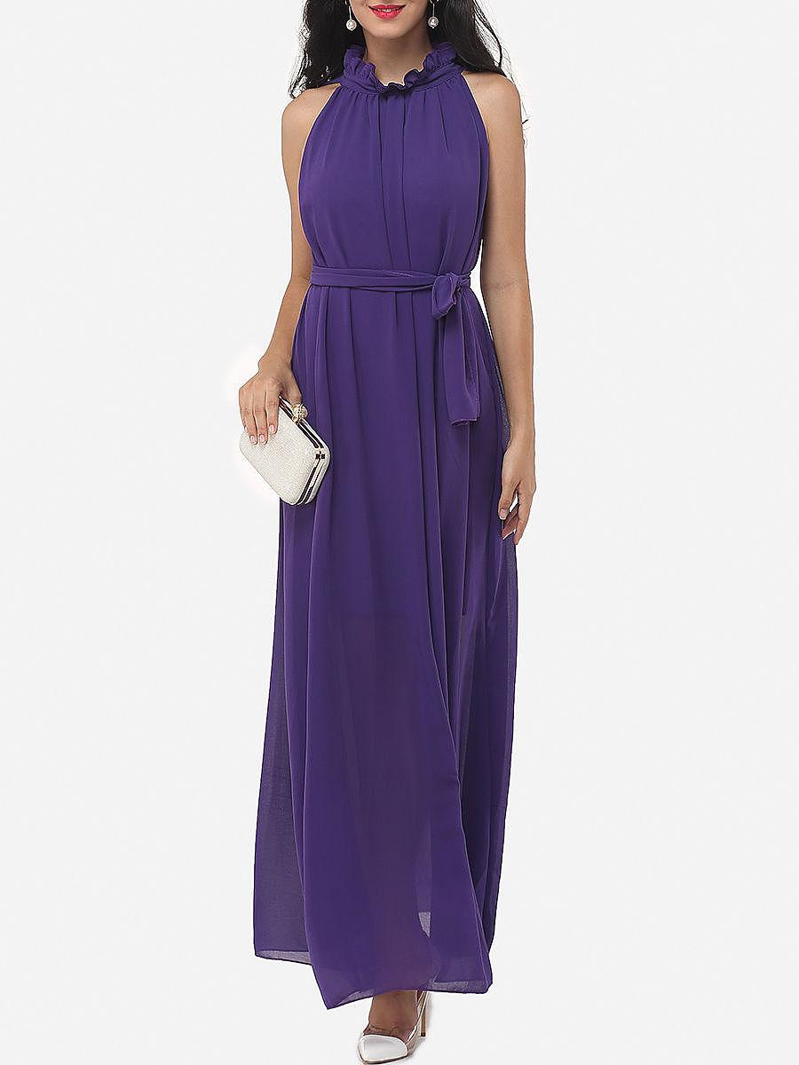 Two-way maxi dress