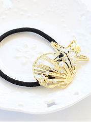 Gold Shell Shape Hair Band