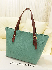 Embossed Big Capacity Shoulder Bag