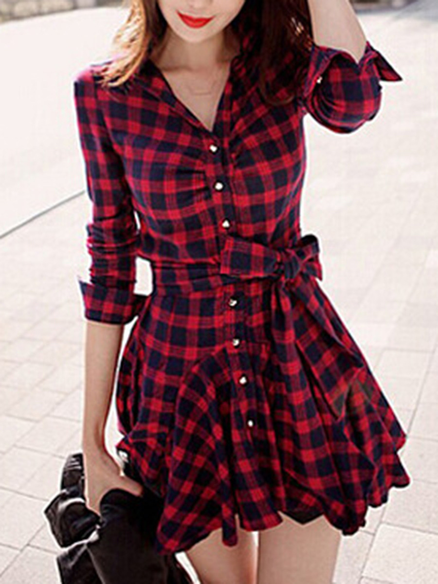 https://www.fashionmia.com/Products/plaid-bowknot-flared-shirt-dress-192716.html