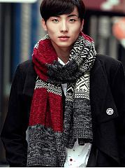 Warm-Long-Warm-Color-Block-Woolen-Scarf-For-Men