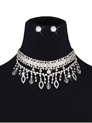 Imitated Crystal Jewelry Sets For Women