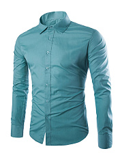 Formal Office Basic Plain Men Shirt
