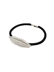 Gold Feather Shape Hair Band