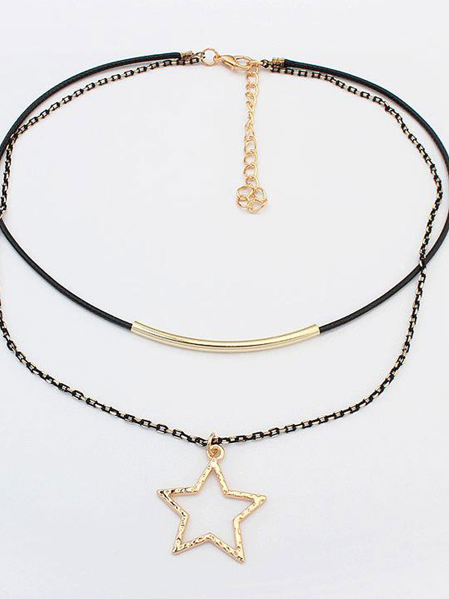 New Style Two Pieces Chic Chocker For Women