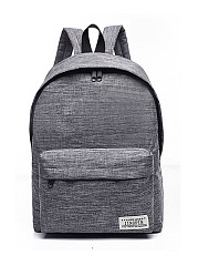 Leisure Canvas Backpack Travel School Casual Bags