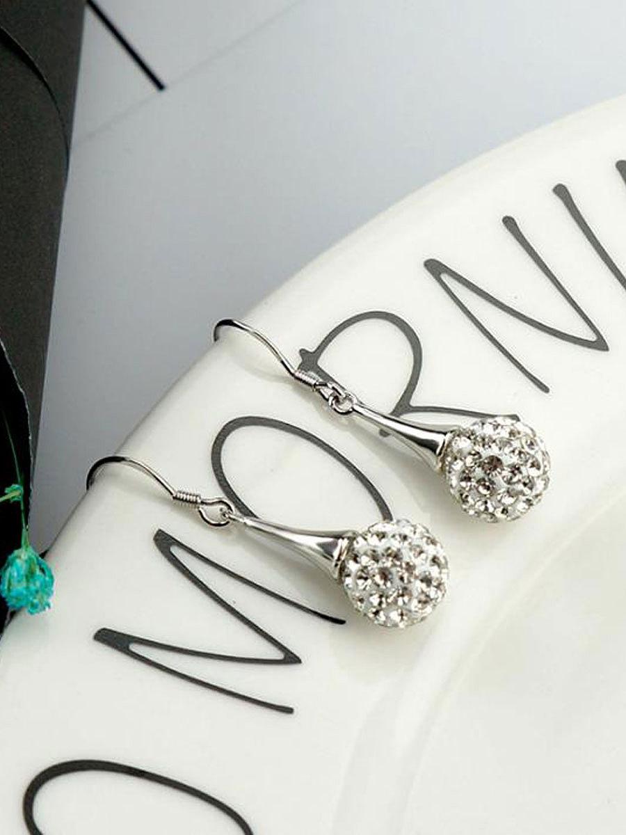 Faux Crytsal Luxury Women  Earrings