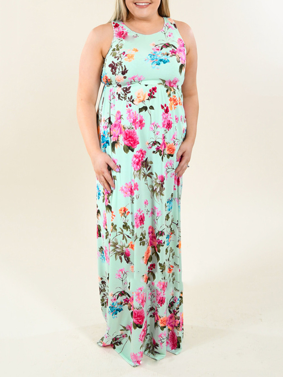 Printed Plus Size Midi & Maxi Dresses