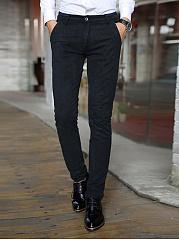 Office-Pocket-Slim-Leg-Mens-Casual-Pants