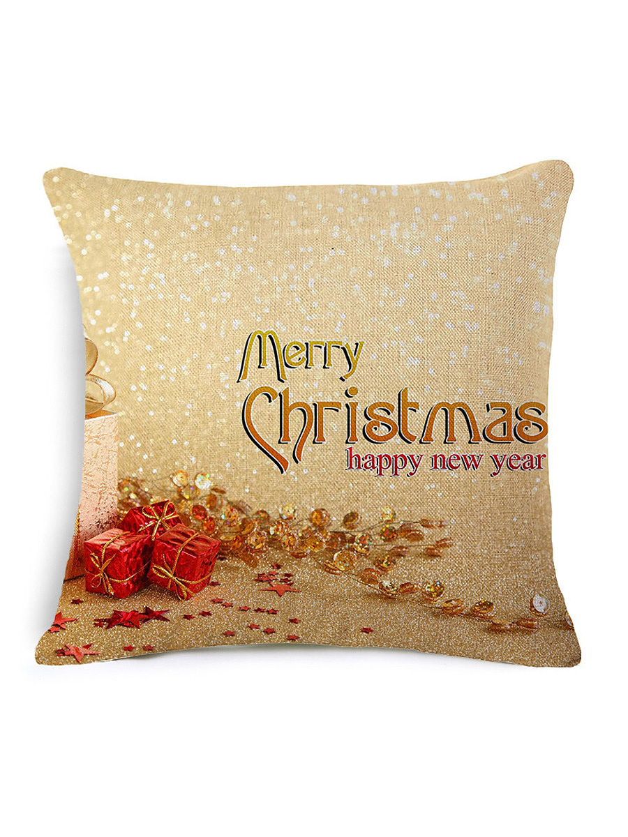 Merry Christmas Pillowcase Without Pillow Core