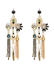 New-Fashion-Style-Golden-Rhieston-Earrings