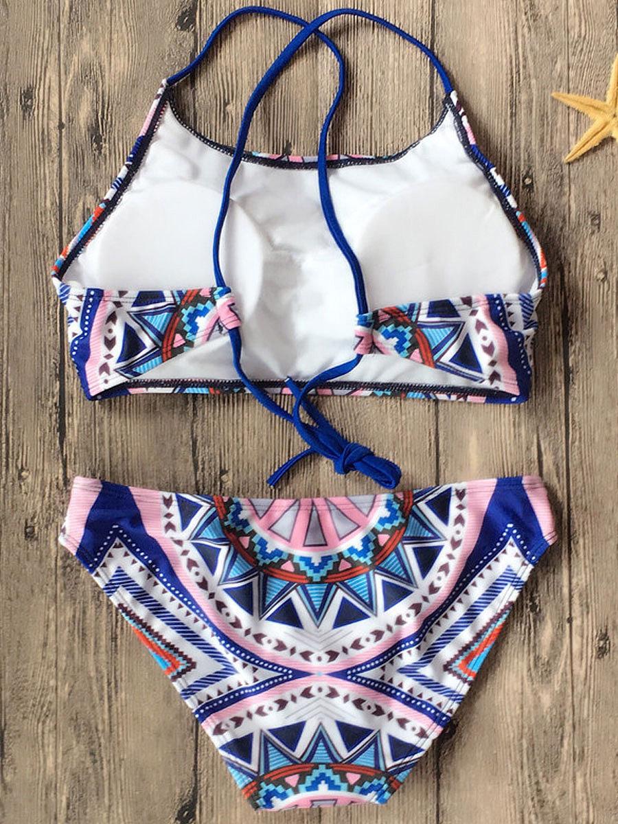 Sexy Geometric Bikini For Women