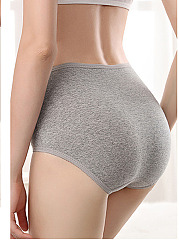 Plus Size Cotton Body Tight Fitness Panties