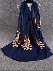 Linen-Golden-Peacock-Embroidery-Scarf