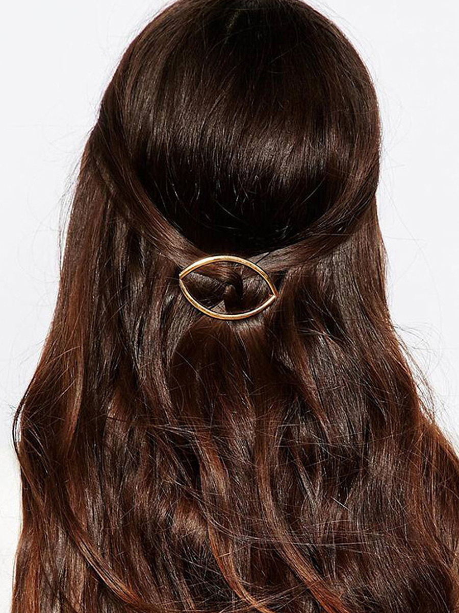 Simple Stylish Gold Hair Clip